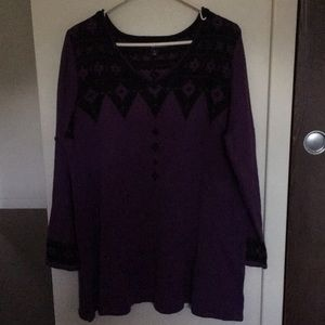 Sweaters - Pullover tunic sweater